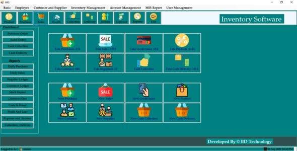 Super shop management software