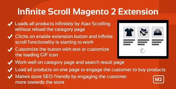 Infinite Scroll Magento 2 Extension