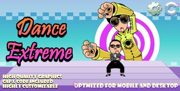 Dance Extreme (C2,C3,HTML5) Game.