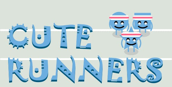 Cute Runners | Html5 Mobile Game | (Construct 2/3)