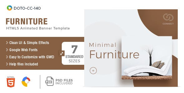 Furniture-HTML5-Banners - 7 Sizes