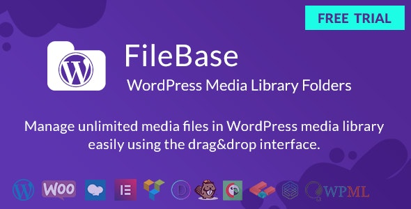 WordPress Media Library Folders - FileBase - CodeCanyon Item for Sale