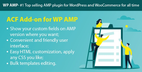 WP AMP ACF (Add-on) - CodeCanyon Item for Sale
