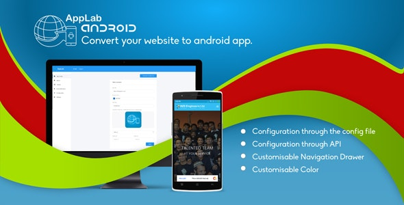 Applab - A Web to Android App Generator by W3Engineers