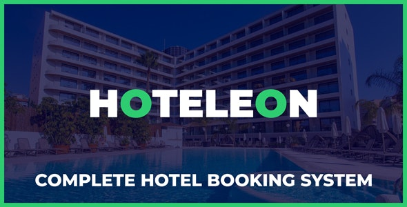 Hoteleon - Complete Hotel Booking System - CodeCanyon Item for Sale