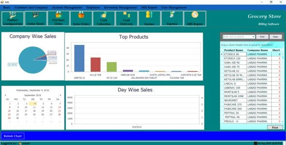 Grocery Store and Billing Software