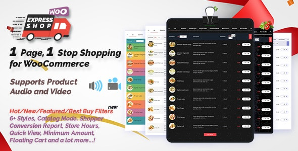 Express Shop for WooCommerce with Audio & Video - CodeCanyon Item for Sale