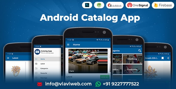 Android Catalog App - CodeCanyon Item for Sale