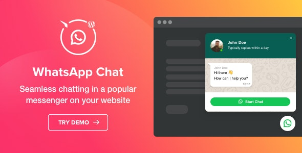 WhatsApp Chat - WordPress WhatsApp Chat plugin - CodeCanyon Item for Sale