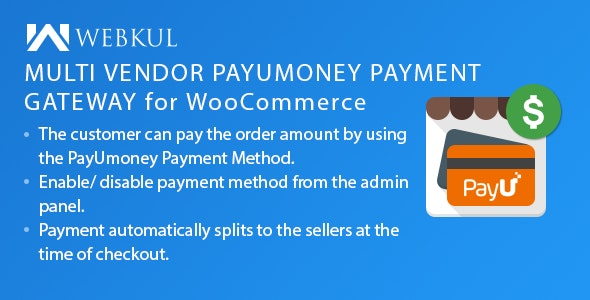 Multi Vendor PayUmoney Payment Gateway for WooCommerce - CodeCanyon Item for Sale
