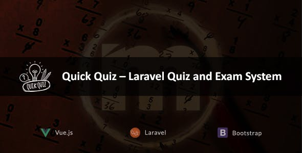Quick Quiz – Laravel Quiz and Exam System