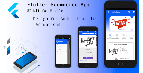 Flutter - E-commerce UI Theme - CodeCanyon Item for Sale