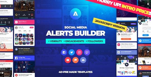 Asgard - Social Media Alerts Javascript Builder by