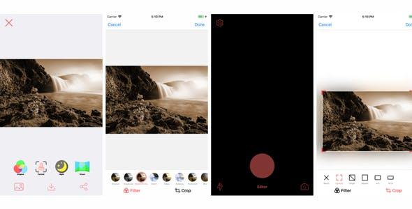 Camereditor: Camera/photo editor app