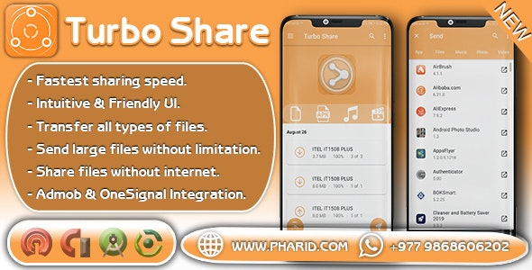 Turbo Share - ShareIt Clone | Transfer & Share | Popular App