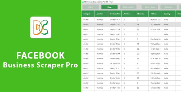Facebook Business Scraper Pro 2.0