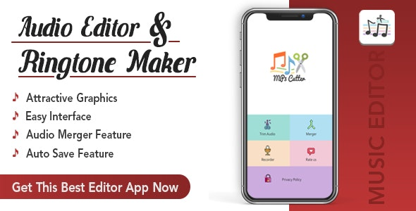 Mp3 ( Audio ) Editor , Trim , Cut & Merge.. - CodeCanyon Item for Sale