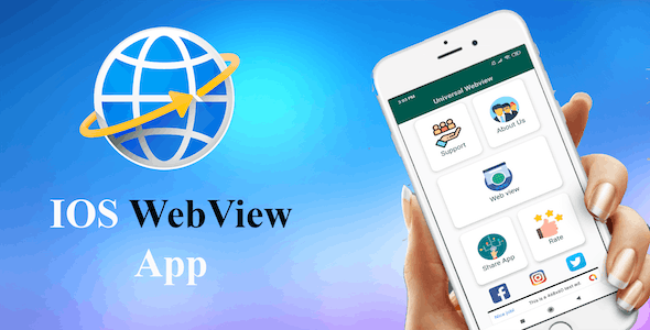 IOS  WebView App - CodeCanyon Item for Sale