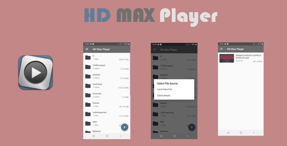 Make A Mp4 Video Player App With Mobile App Templates