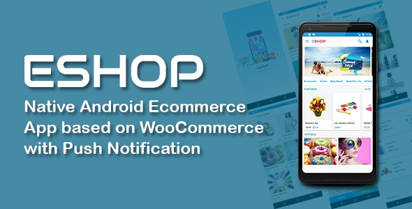 ESHOP Native Android Ecommerce App based on WooCommerce with