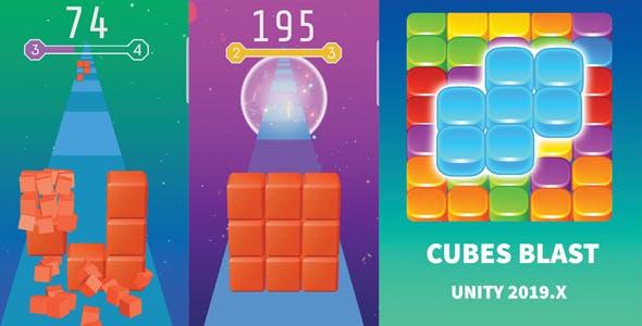 Cubes Blast – Bricks Breaker