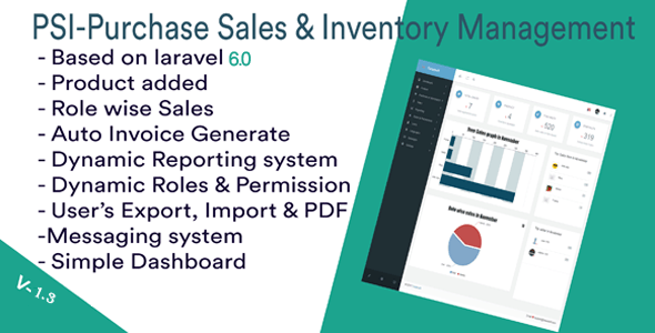 PSI-Purchase Sales & Inventory-management System - CodeCanyon Item for Sale