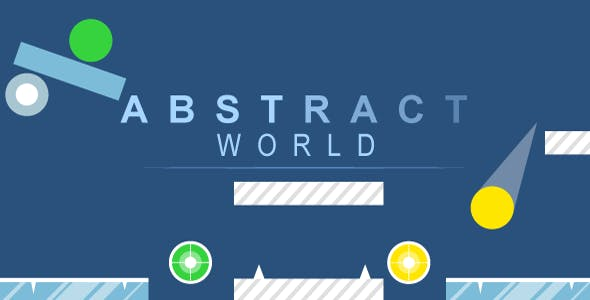 Abstract world - HTML5 game, mobile control, AdSense, AdMob possible, responsive, construct 2