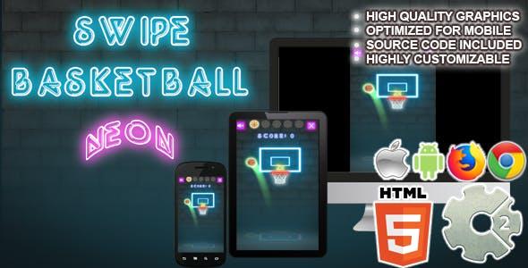Basket Swipe Neon  ( CAPX + HTML5)