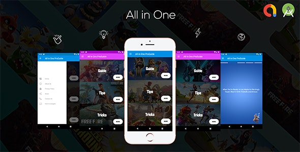 All In One Pro Games Guide , Tips , Tricks (Instagram Story Style  -  Admob  -  Android Studio ) - CodeCanyon Item for Sale
