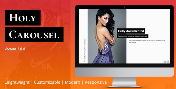 Holy Carousel | JavaScript Slideshow Plugin - CodeCanyon Item for Sale