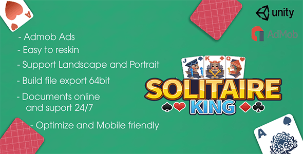 Spider Solitaire - Unity Game Template