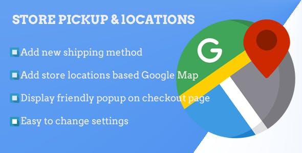 Magento 2 Store Pickup & Locations