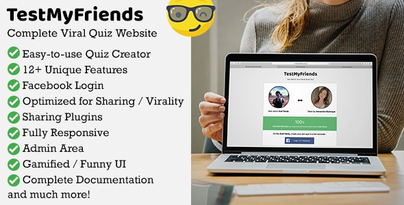 TestMyFriends - Complete Viral Friend Quiz Website - CodeCanyon Item for Sale