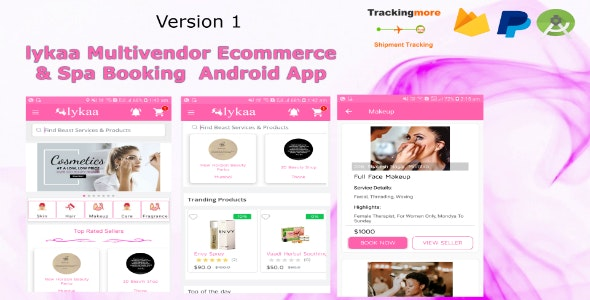 lykaa Multivendor Ecommerce & Spa Booking App - CodeCanyon Item for Sale