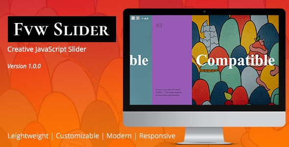 FVW Slider | JavaScript Slideshow Plugin        Nulled