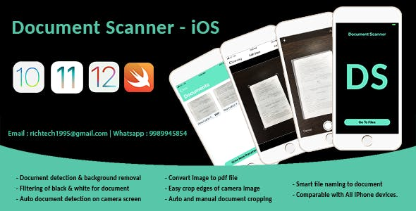 Smart Document Scanner | Admob | IOS
