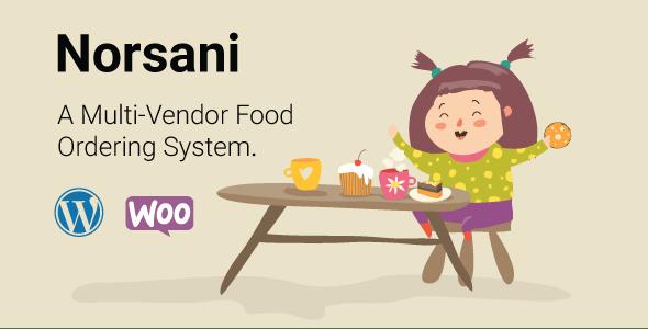 Norsani Multi-vendor food ordering system