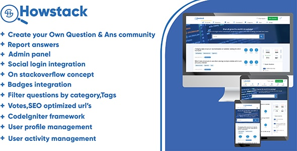 HowStack - Questions And Answers Plateform - CodeCanyon Item for Sale