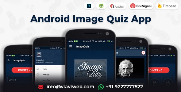 Android Image Quiz App - CodeCanyon Item for Sale