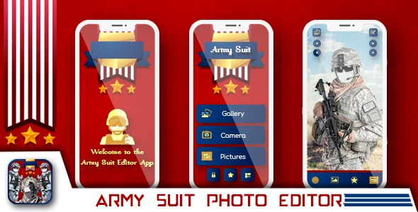 Army suit photo editor , Indian army photo editor - CodeCanyon Item for Sale
