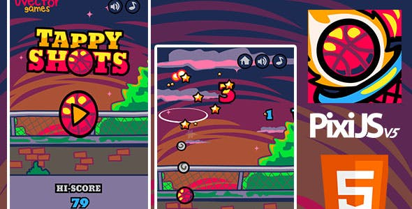 Tappy Shots HTML5 Game Source Code