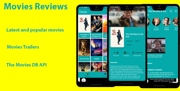 Movies Reviews -Latest and Popular Movies Reviews and Trailers - CodeCanyon Item for Sale