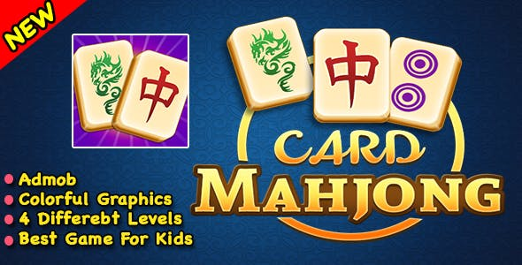 Card Mahjong + Best Puzzle Game + Ready For Publish + Android Studio