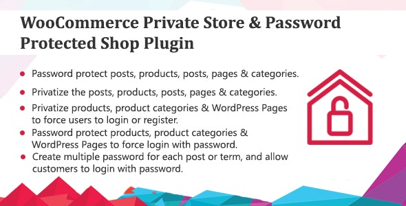 WooCommerce Private Store - Password Protected Shop Plugin        Nulled