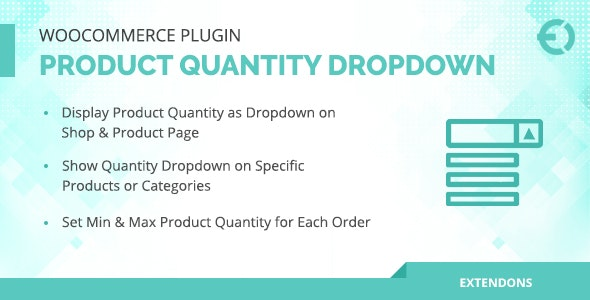 WooCommerce Product Quantity Dropdown Plugin        Nulled