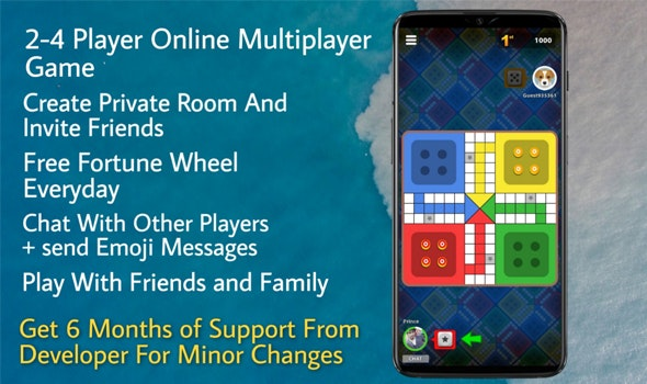 Ludo Mania Multiplayer Game Unity3D - CodeCanyon Item for Sale