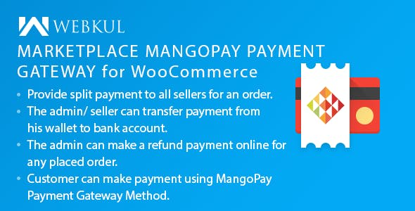 Marketplace MangoPay Payment Gateway for WooCommerce