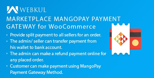 Marketplace Mangopay Payment Gateway For Woocommerce By