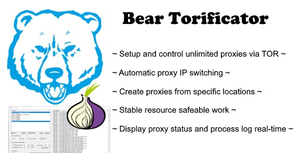 Bear Torificator - unlimited proxies via TOR