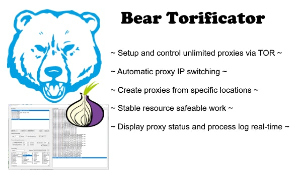 Bear Torificator - unlimited proxies via TOR - CodeCanyon Item for Sale
